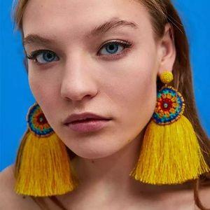 Jewelry - Boho - Women's fashion tassel earrings